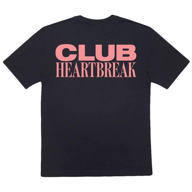 Mark Ronson CLUB HEARTBREAK TEE (BLACK/PINK)