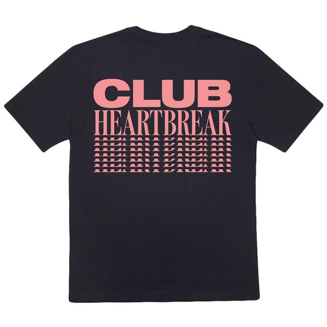 Mark Ronson CLUB HEARTBREAK REPEATER TEE (BLACK/PINK)