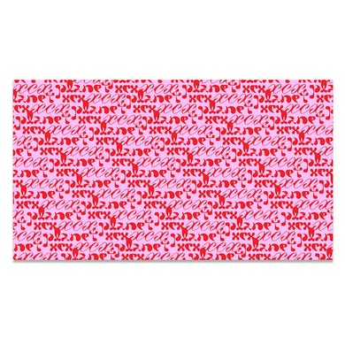 Charli XCX PLANET XCX WRAPPING PAPER