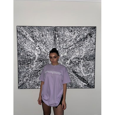 Charli XCX POP 2 ORCHID TEE