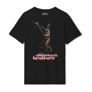 The Chemical Brothers KING ELEKTRO (電子王 ) BLACK T-SHIRT