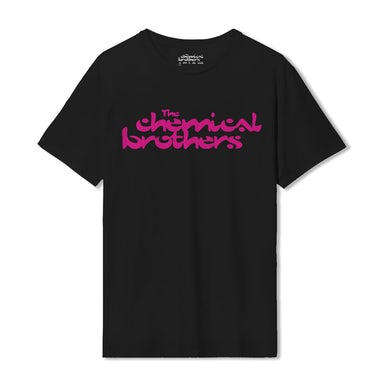 The Chemical Brothers PINK LOGO T-SHIRT - THE DESIGN MUSEUM EDITION