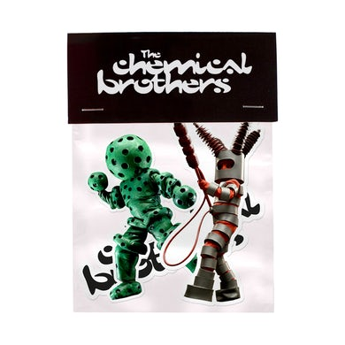 The Chemical Brothers STICKER SET - THE DESIGN MUSEUM EDITION