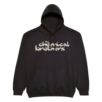 The Chemical Brothers BLACK LOGO HOODY