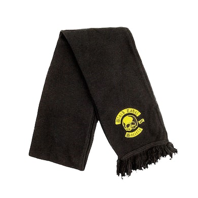 Black Label Society Colors Embroidered Scarf