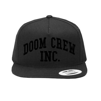 Black Label Society Doom Crew Inc Monotone Embroidered Hat