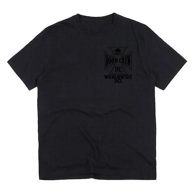 Black Label Society Doom Crew Inc Worldwide Black Friday Tee