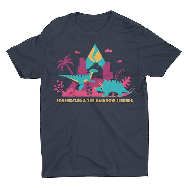 Joe Hertler & The Rainbow Seekers Prehistoric Times T-Shirt (Ladies Cut)
