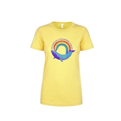 Rainbow Whale T-Shirt (Ladies Cut)