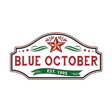 Blue October - Established 1995 Logo Sticker