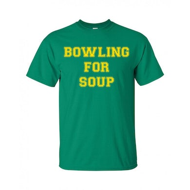 Bowling For Soup - College Logo Throwback Tee (Kelly Green)