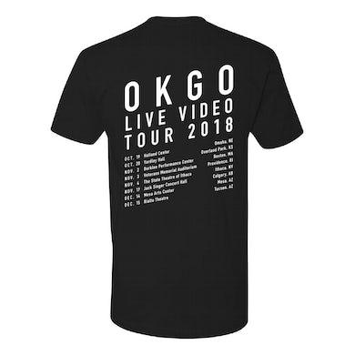 OK Go - 2018 Tour Tee (Black)