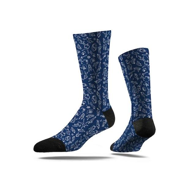 Ok Go Collage Logo Socks