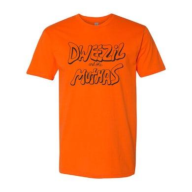 Dweezil Zappa - Dweezil and the Muthas Logo Tee (Orange)