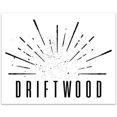 Driftwood - Burst Sticker
