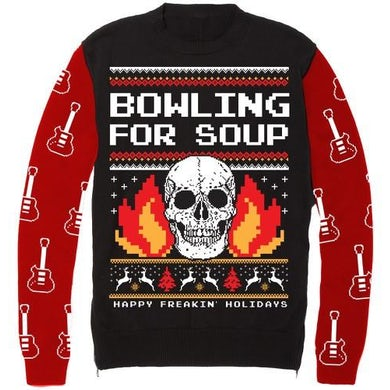 Bowling For Soup - Happy Freakin' Holidays Ugly Christmas Sweater