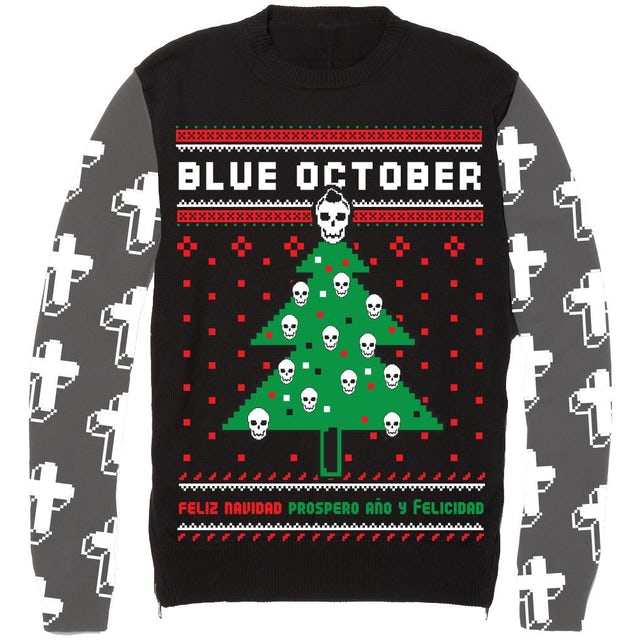 Blue October - Ugly Christmas Sweater