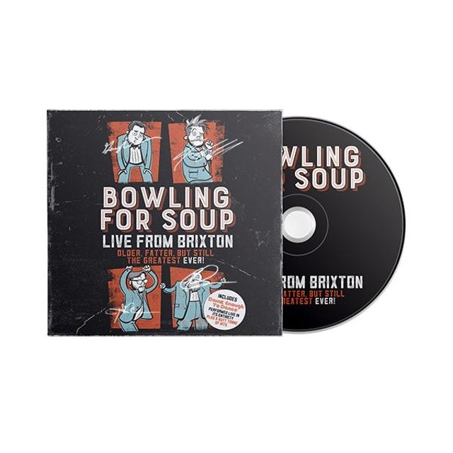 Bowling For Soup - Live From Brixton CD (Autographed)