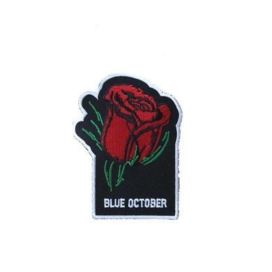 Blue October - Block Text Patch