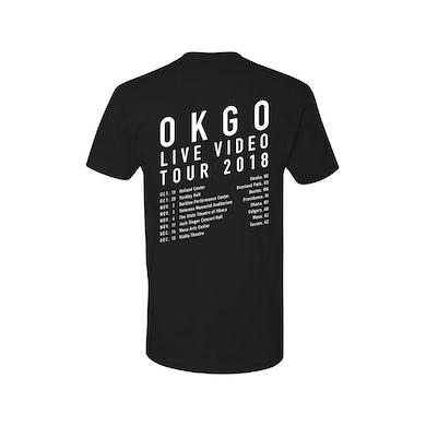 Ok Go 2018 Youth Tour Tee (Black)