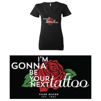 Tyler Hilton - I\'m Gonna Be Your Next Tattoo Ladies Tee