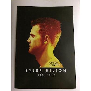 Tyler Hilton - Signed Indian Summer Album Promo Poster