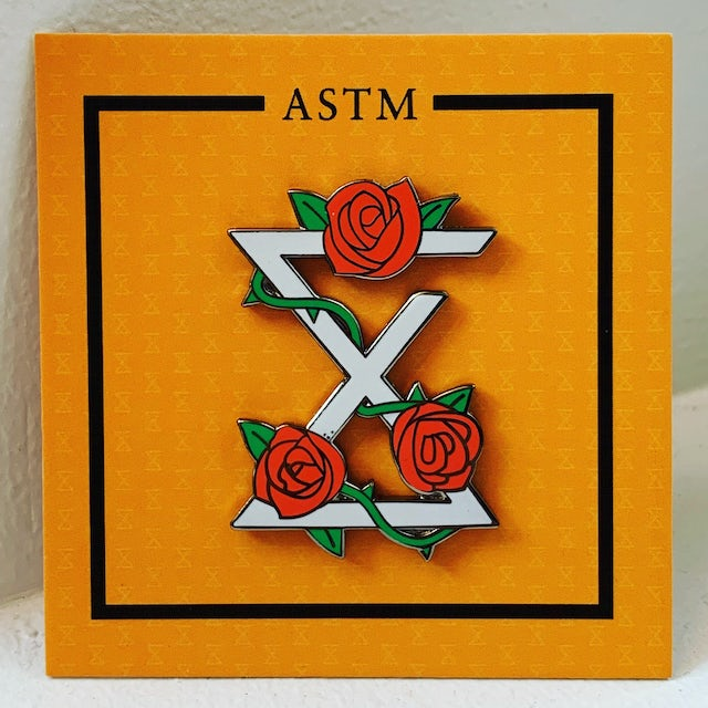 Andy Suzuki & The Method ASTM - Roses and Thorns Pin