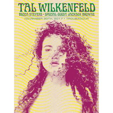 Tal Wilkenfeld - Troubadour Poster