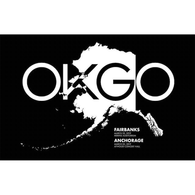 Ok Go 2019 Alaska Tour Poster