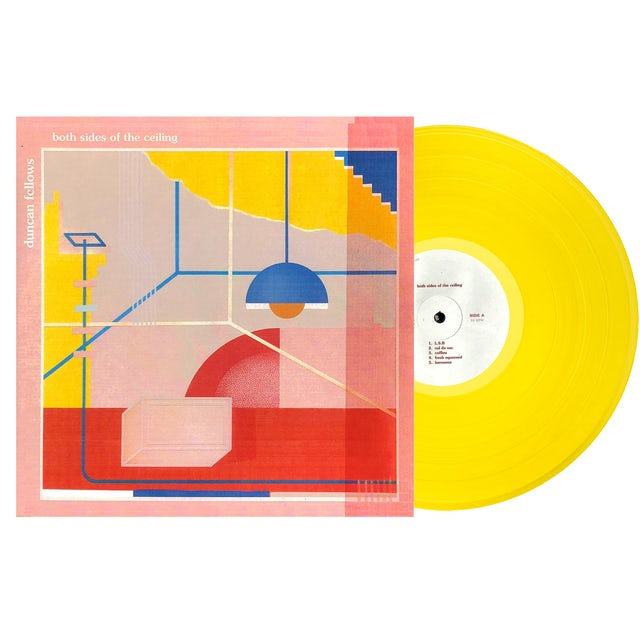 Duncan Fellows - Both Sides Of The Ceiling Autographed Yellow Vinyl