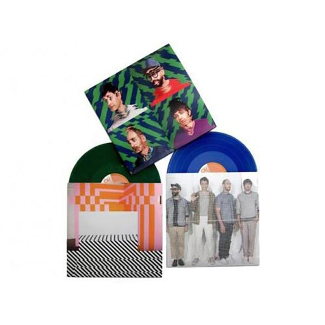 Ok Go Hungry Ghosts - Green & Blue Colored Vinyl Reissue