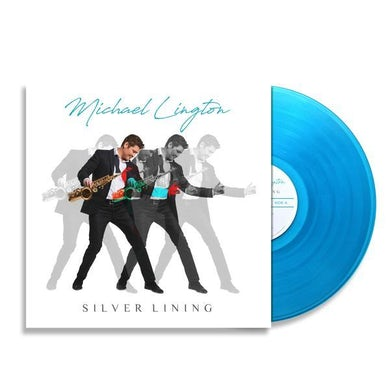 Limited Edition Silver Lining Blue Swirl Vinyl