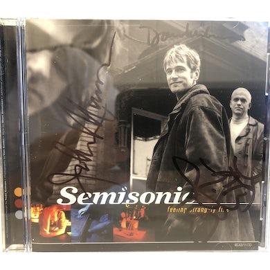 Semisonic - Feeling Strangely Fine Original Run Signed CD