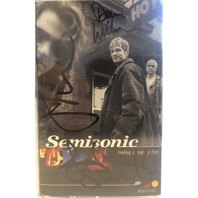 Semisonic - Feeling Strangely Fine Original Run Signed Cassette