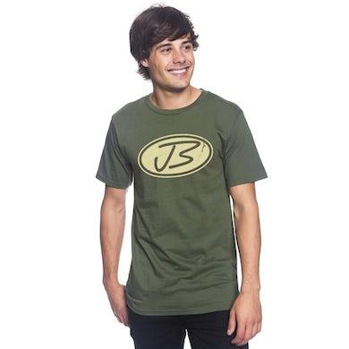 Jody Booth - Distressed Logo Tee (Green)