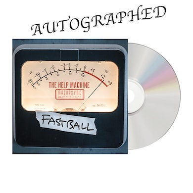 Fastball - The Help Machine Signed CD