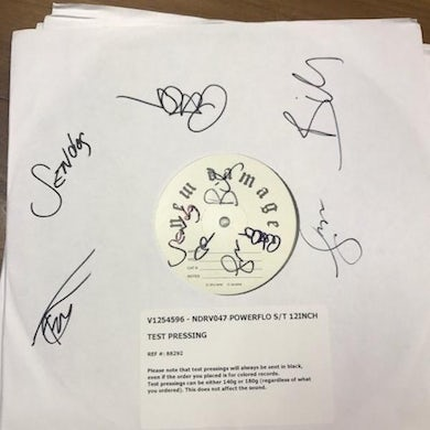 Powerflo - Test Pressing Signed and Numbered
