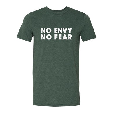 Joshua Radin - No Envy No Fear Tee (Heather Green)