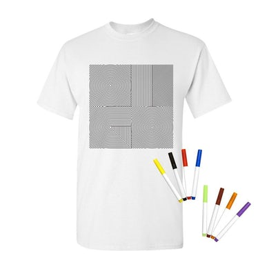OK Go - Maze Logo Fabric Marker Tee
