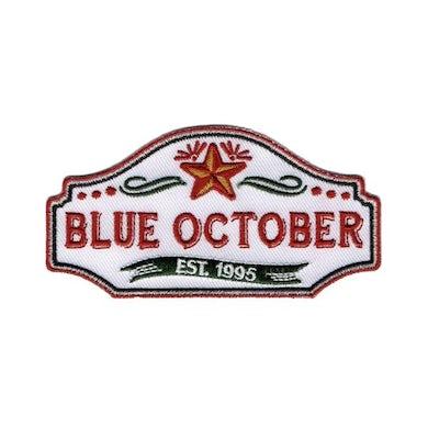 Blue October - Established 1995 Logo Patch