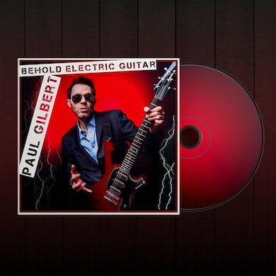 Paul Gilbert - Behold Electric Guitar CD