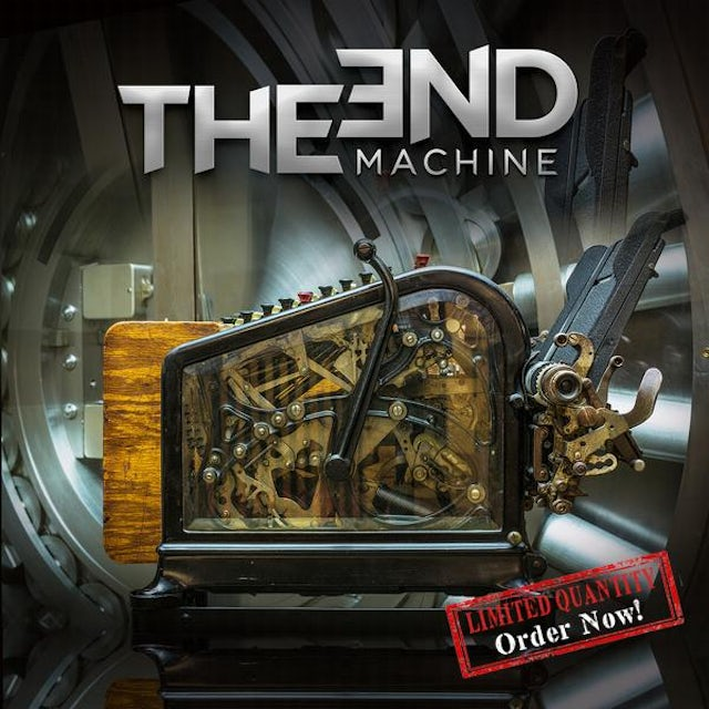 Frontiers The End Machine - Black Colored Vinyl
