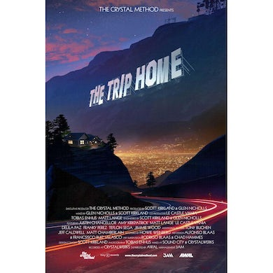 Exclusive SIGNED The Trip Home Movie Style Poster