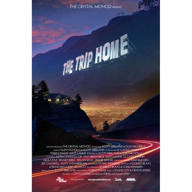 The Crystal Method - Exclusive SIGNED The Trip Home Movie Style Poster