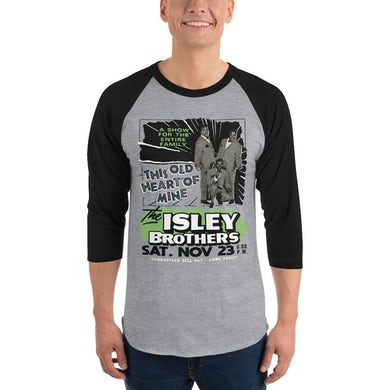 The Isley Brothers - Vintage Heart Of Mine Baseball Tee