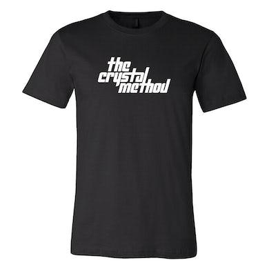 The Crystal Method - Black Logo T-Shirt