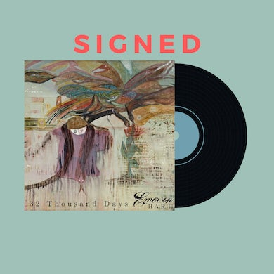 Emerson Hart - 32 Thousand Days Signed Vinyl