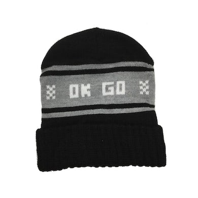 Ok Go Wisco Hat (Black and White)