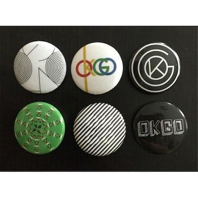 OK Go - Logo Button Pack