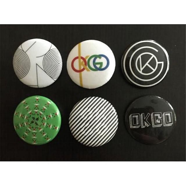 Ok Go Logo Button Pack